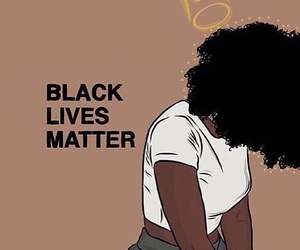 black, black lives matter, and melanin image