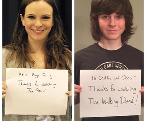 the flash, CAITLIN, and chandler image