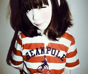 girl, ulzzang, and pretty image