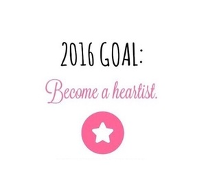 heartist, we heart it, and goals image