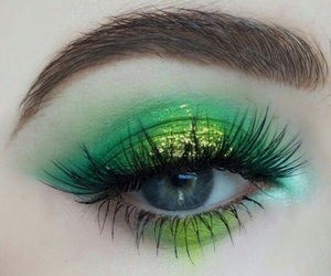 eye, make up, and beautyful image