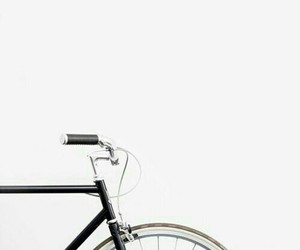 aesthetic, bike, and white image