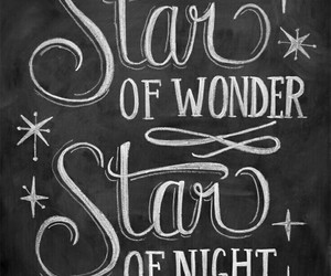 chalkboard, christmas, and star image