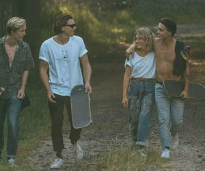 friendship, skate, and friends image