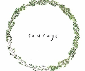 quote and courage image