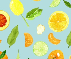 pattern, fruit, and wallpaper image