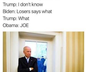 obama, funny, and joe biden image