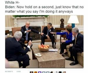 bromance, joe biden, and obama image