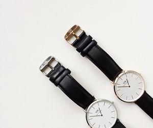 black, watch, and daniel wellington image