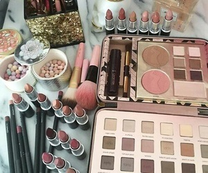 beauty, nudes, and makeup image