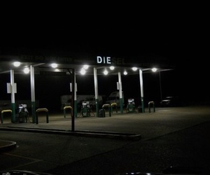 grunge, dark, and die image