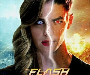 the flash, barry allen, and killer frost image