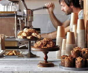 coffee, bakery, and food image