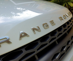 range rover, car, and white image