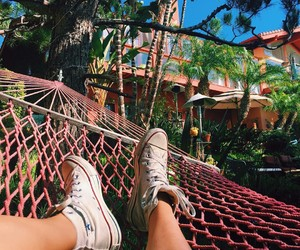 summer, converse, and theme image