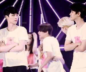 couple, exo, and kpop image