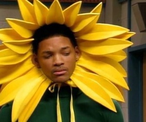 will smith, flower, and funny image