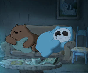 cartoon, we bare bears, and panpan image