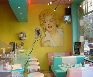 colors, Marilyn Monroe, and pink image