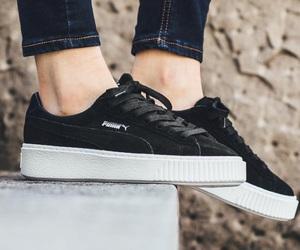 platform, puma, and shoes image