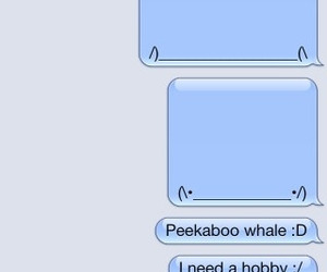funny, text, and whale image