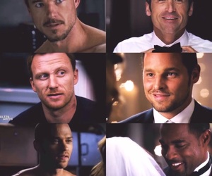 owen hunt, grey's anatomy, and mark sloan image