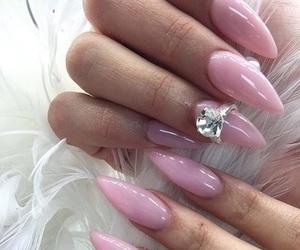 bright, pink, and diamond image