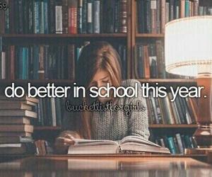 school, study, and bucket list image
