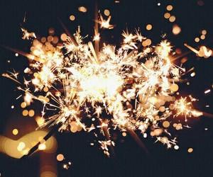 light, fireworks, and night image