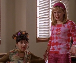 lizzie mcguire, funny, and Hilary Duff image