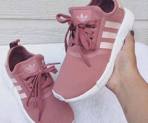 adidas, pink, and pink shoes image