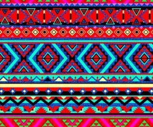 colors and tribal image