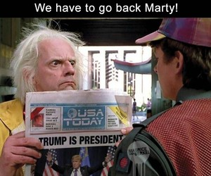Back to the Future, funny, and lol image