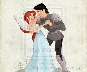 ariel, disney, and romeo and juliet image