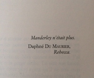 book, daphne du maurier, and francais image