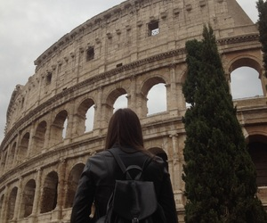 art, italy, and colosseo image