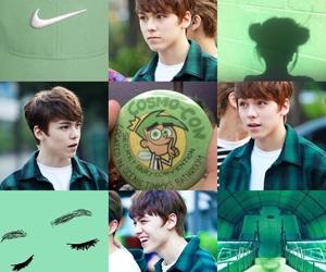 green, vernon, and Seventeen image