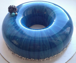 blue, cake, and food image