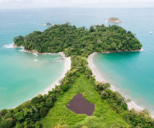background, costa rica, and paradise image