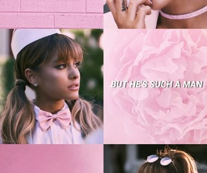 moonlight, pink, and ariana grande image