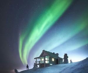 adventure, aurora, and december image