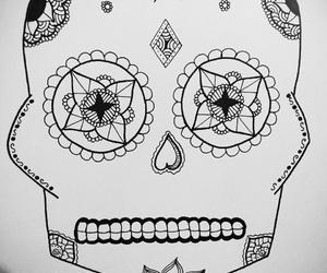 art, Halloween, and zentangle image