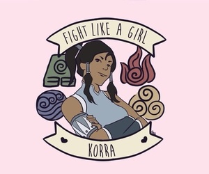 avatar, feminism, and fight like a girl image