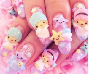 nails, cute, and kawaii image