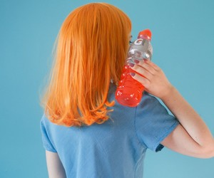 blue, orange, and photography image