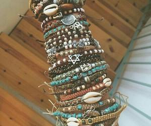 bracelets and hippy image