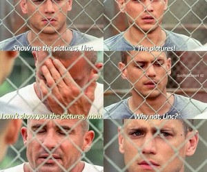 prison break, wentworth miller, and lincoln burrows image