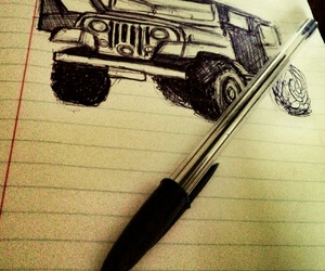 jeep, stiles, and teenwolf image
