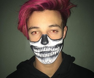Halloween, pink hair, and instagram image