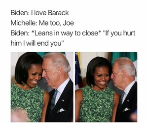 funny, meme, and michelle obama image